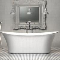 Charlotte Edwards Admiralty Contemporary Freestanding Bath - 1800 x 800mm